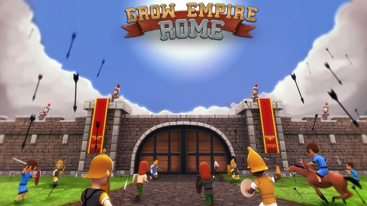 Grow Empire Rome Mod Apk 1.3.33 Unlimited Money & Gold